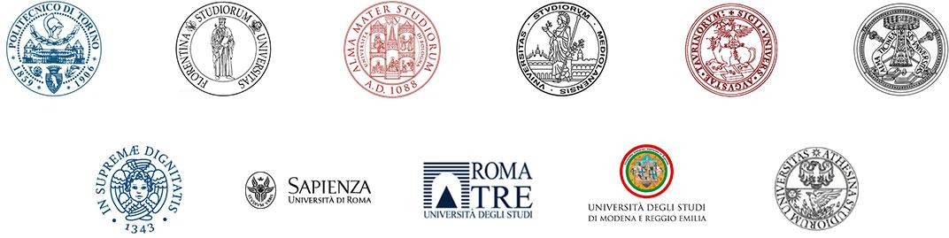合作高校Logos