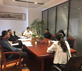 拜访贵阳高新区领导探讨世界大学城发展规划事宜