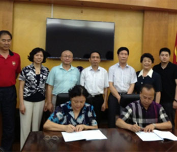 华夏博雅教育集团与福幼高专签署合作办学协议
